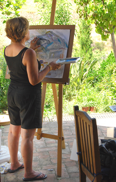 Summer painting course