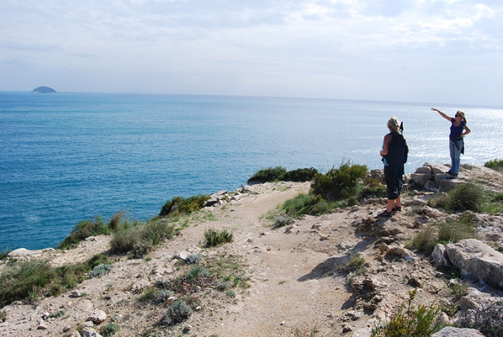 On the coast path Villajoyosa